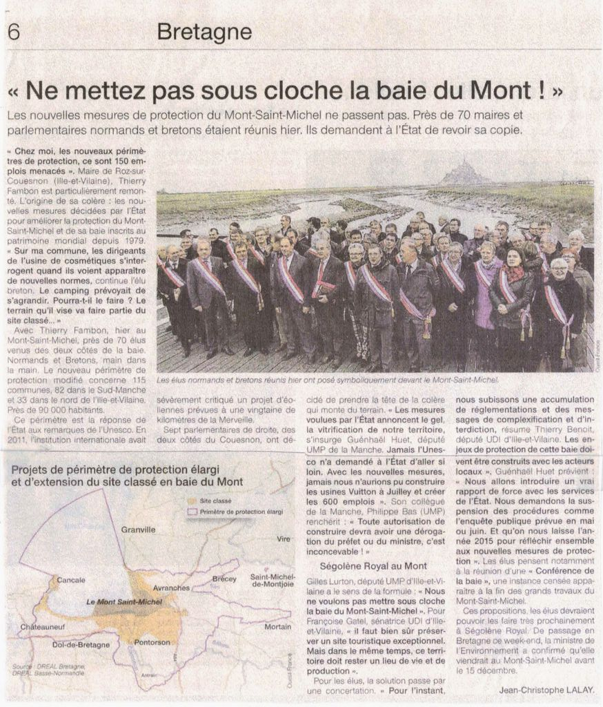 Ouest France - 25-11-14