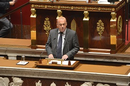 Assemblée Nationale - intervention tribune
