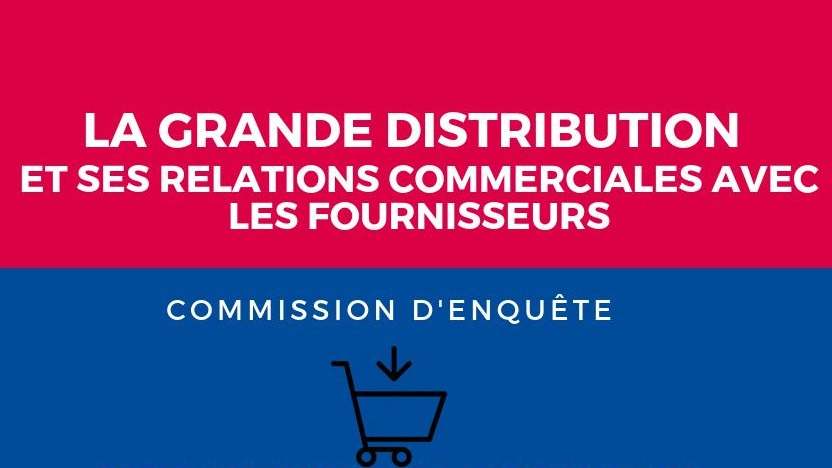 Commission d'enquête grande distribution