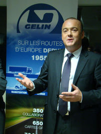 Thierry Benoit aux Transports Gelin